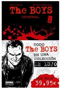 """The Boys Integral"" (Garth Ennis y Darick Robertson, Norma Editorial)"