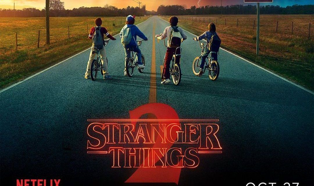 """Stranger Things T2"" (Hermanos Duffer, Netflix)"