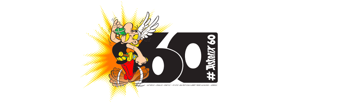 Image result for 60 AÑOS ASTERIX