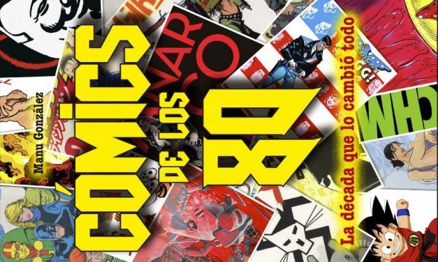 "Red Book Ediciones presenta: ""Cómics de los 80"""