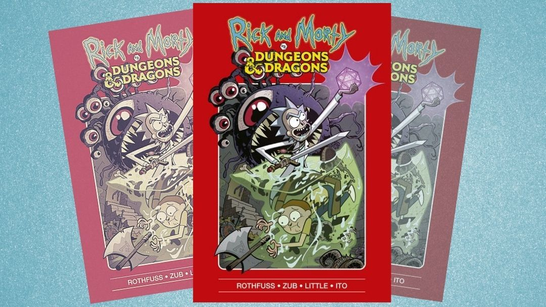 «Rick and Morty vs. Dungeons & Dragons» (Patrick Rothfuss, Jim Zub y Troy Little, Norma Editorial)